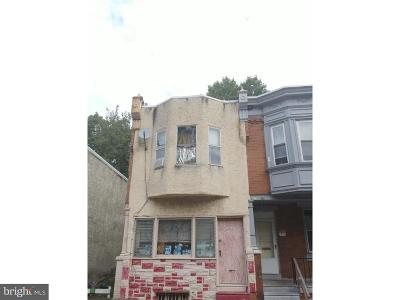 Philadelphia PA Townhouse For Sale: $37,500