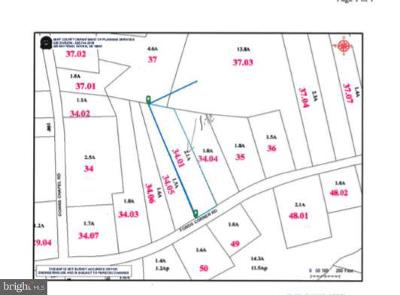Kent County, KENT County Residential Lots & Land For Sale: 2761 Fords Corner Road