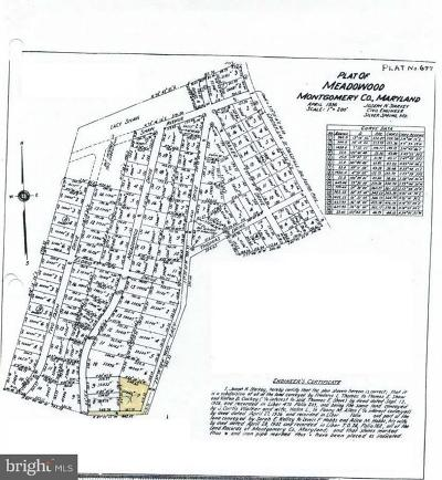 Silver Spring Residential Lots & Land For Sale: 12503 Meadowood Drive