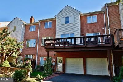 Rockville Townhouse For Sale: 64 Rockcrest Circle