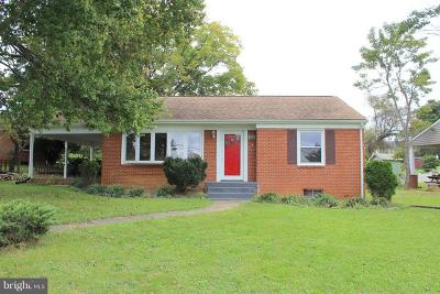Page County Single Family Home For Sale: 123 Deford Avenue