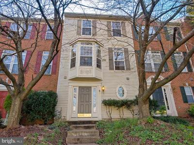 Frederick Townhouse For Sale: 602 Eisenhower Drive