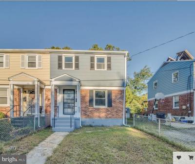 Oxon Hill Single Family Home For Sale: 5828 Shoshone Drive