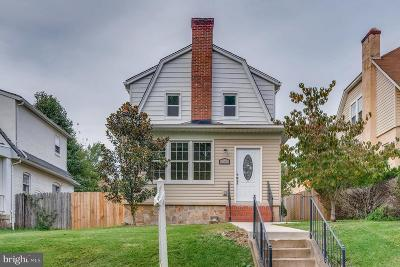 Single Family Home For Sale: 1316 Asbury Road