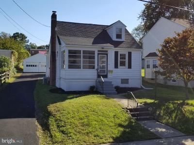 Wilmington Single Family Home For Sale: 2402 Frederick Avenue