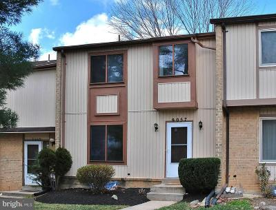 Gaithersburg Townhouse For Sale: 9057 Centerway Road