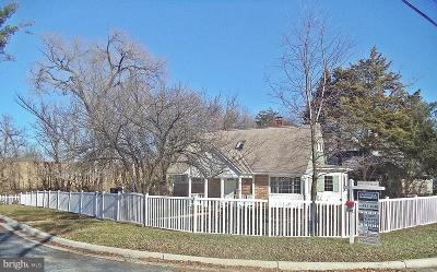 Silver Spring Single Family Home For Sale: 9800 Dilston Road