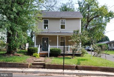 Culpeper County Single Family Home For Sale: 915 West Street S