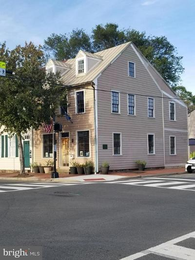 Fredericksburg Townhouse For Sale: 501 Caroline Street
