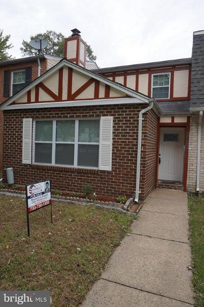 Triangle Townhouse For Sale: 3720 Tavern Way