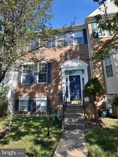 Bristow Townhouse For Sale: 8718 Farnham Way