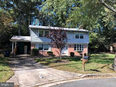 Laurel MD Single Family Home For Sale: $329,999