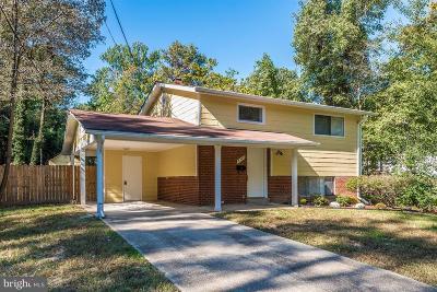 Lanham MD Single Family Home For Sale: $325,000