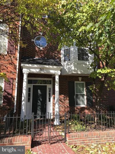 Rockville Townhouse For Sale: 511 Falcon Park Lane