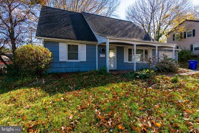 Bowie MD Single Family Home For Sale: $315,000