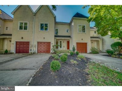 Cherry Hill Townhouse For Sale: 454 Centura