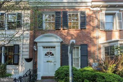 Washington Townhouse For Sale: 1654 32nd Street NW