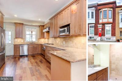Canton Townhouse For Sale: 502 S Potomac Street