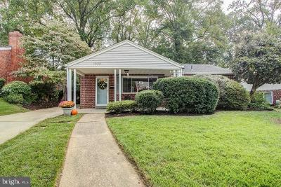 Silver Spring Single Family Home For Sale: 10005 Portland Road