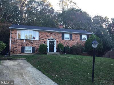 Upper Marlboro Rental For Rent: 12509 Cynthia Court