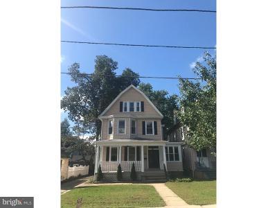 Merchantville Single Family Home For Sale: 114 N Centre Street