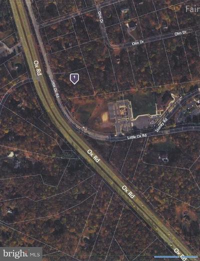Fairfax Station Residential Lots & Land For Sale: 6439 Little Ox Road
