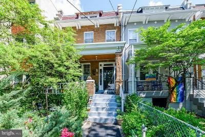 Washington Townhouse For Sale: 611 Jefferson Street NW