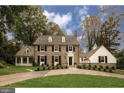 Bryn Mawr Single Family Home For Sale: 215 Curwen Road