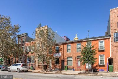 Baltimore City Townhouse For Sale: 2412 Fleet Street