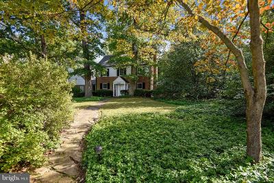 Bethesda Single Family Home For Sale: 8205 Rayburn Road