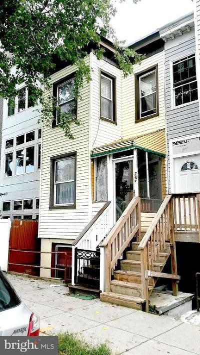 Columbia Heights Single Family Home For Sale: 764 Park Road NW