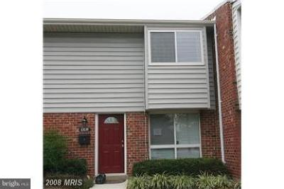 Herndon Townhouse For Sale: 13235 Keach Place