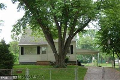 Manassas Single Family Home For Sale: 7609 Albemarle Drive
