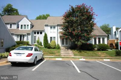 Fairfax County Townhouse For Sale: 3876 Alder Woods Court