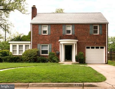 Silver Spring Single Family Home For Sale: 9700 Marshall Avenue
