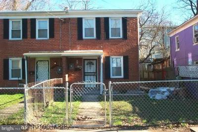 Deanwood Single Family Home Under Contract: 227 56th Street NE