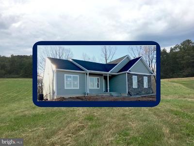 Single Family Home For Sale: 101 Belle Plains Road