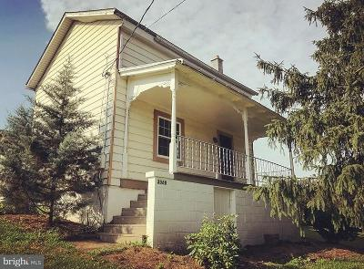 Perry County Single Family Home Under Contract: 3568 Shermans Valley Road