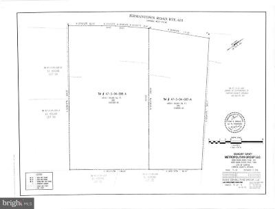 Fairfax Residential Lots & Land For Sale: 3623 Jermantown Road