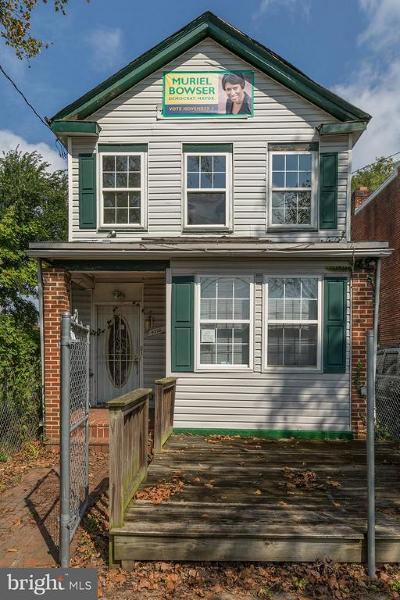 Washington Single Family Home For Sale: 4322 Sheriff Road NE
