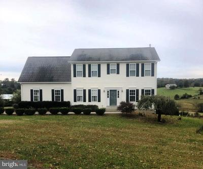 Culpeper County Single Family Home For Sale: 15258 Bleak Hill Road