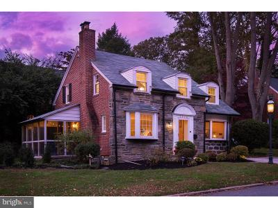 Wynnewood PA Single Family Home For Sale: $415,000