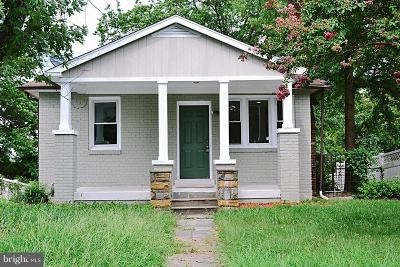 Fairmount Heights Single Family Home Active Under Contract: 905 Eastern Avenue