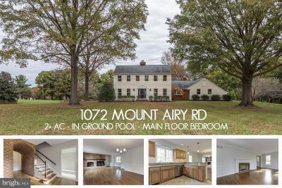 Davidsonville Single Family Home For Sale: 1072 Mount Airy Road