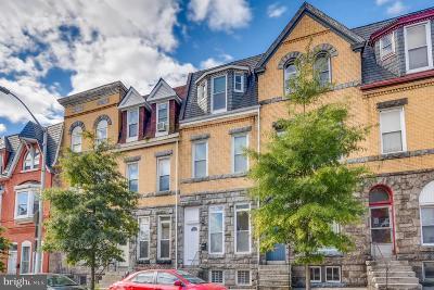 Baltimore City Townhouse For Sale: 2418 N Calvert Street