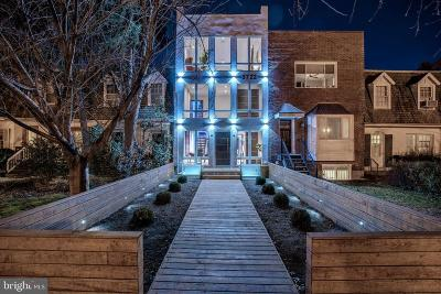 Georgetown Townhouse For Sale: 3722 R Street NW