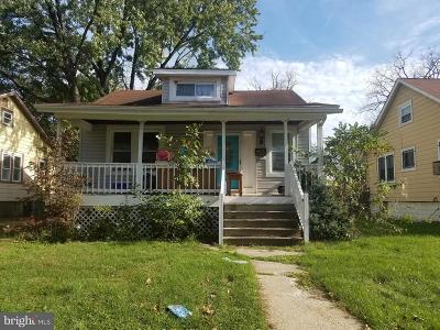 Baltimore Single Family Home For Sale: 3805 Ferndale Avenue