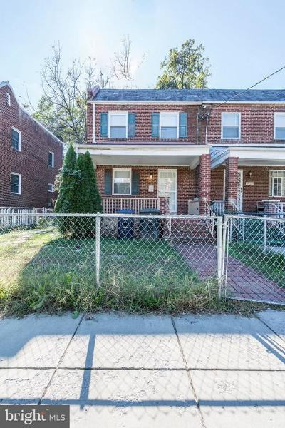 Single Family Home Active Under Contract: 4611 Clay Street NE