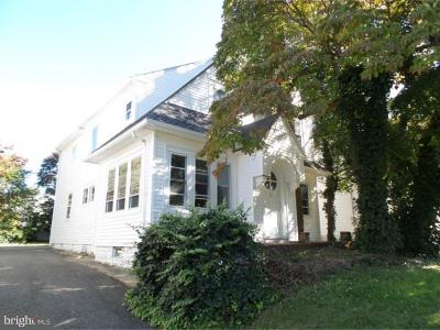 Oaklyn Single Family Home For Sale: 117 Woodland Terrace