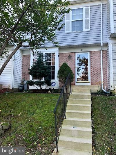 Owings Mills Townhouse For Sale: 21 Stretham Court
